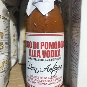 Sugo di pomodoro all vodka