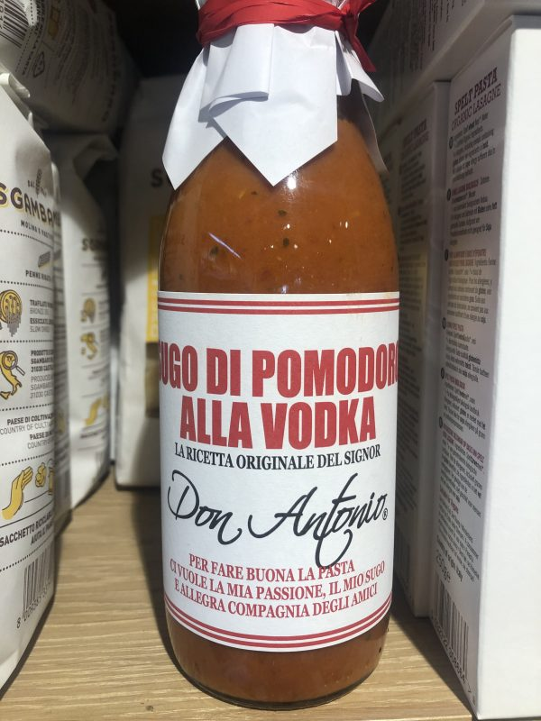 Sugo di pomodoro all vodka